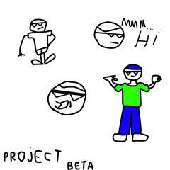 Bocetos de su personaje (versión beta)
