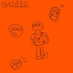 Bocetos de su personaje actual (versión final)