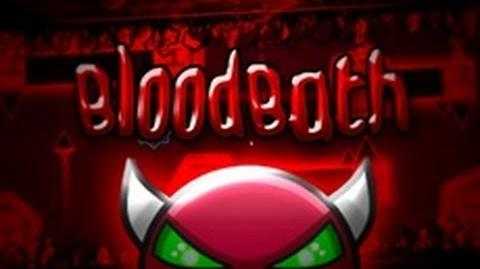 Geometry Dash - Bloodbath -DEMON- - By- Me and many others! (Verified On Stream)