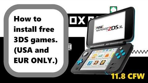 Video - How To Get 3DS Games For FREE! (USA and Europe ONLY
