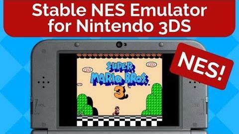Video - NES Emulator for Nintendo 3DS | Unofficial Geometry Dash