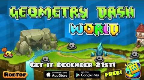 Geometry Dash World Trailer