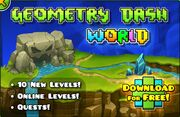 Geometry Dash World Ad