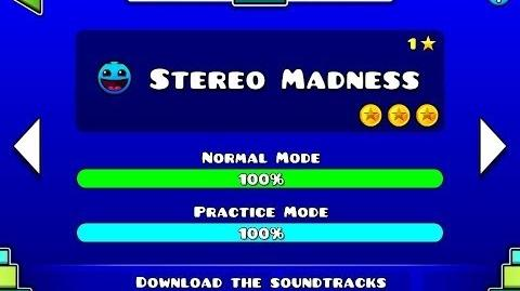 Geometry Dash - Level 1 Stereo Madness (All Coins)