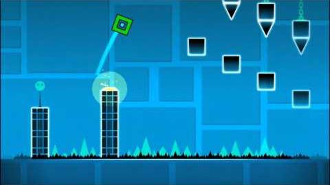 Level 3 - Polargeist By RobTop (Easiest Level) (3 Coins)