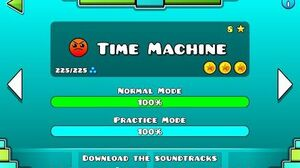 Geometry Dash - Time Machine
