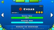 CyclesMenú