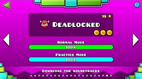 Geometry Dash - Level 20 Deadlocked (All Coins)