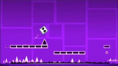 Level 1 - Stereo Madness By RobTop (Easiest Level) (3 Coins)