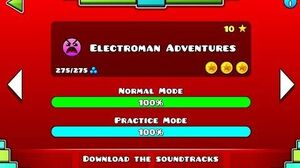 Geometry Dash - Electroman Adventures