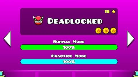 Geometry Dash Walkthrough - Level 20 (Deadlocked) ALL COINS