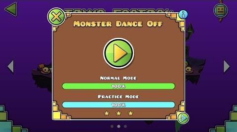 Geometry Dash World - Monster Dance Off