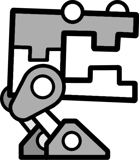 robot11png - Geometry Dash Icon Coloring Pages