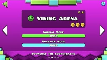 Geometry Dash Meltdown - Viking Arena