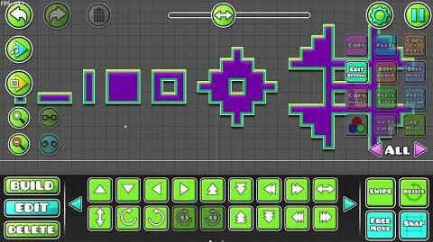 Geometry Dash - Update 2.2 Editor Preview 4