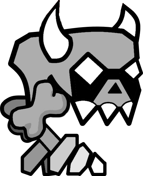 Geometry Dash Coloring Page Spider