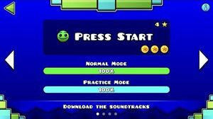 Geometry Dash SubZero - Press Start