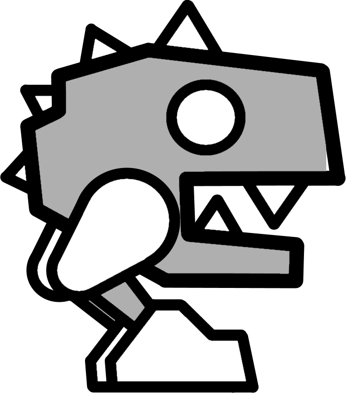 robot03png - Geometry Dash Icon Coloring Pages