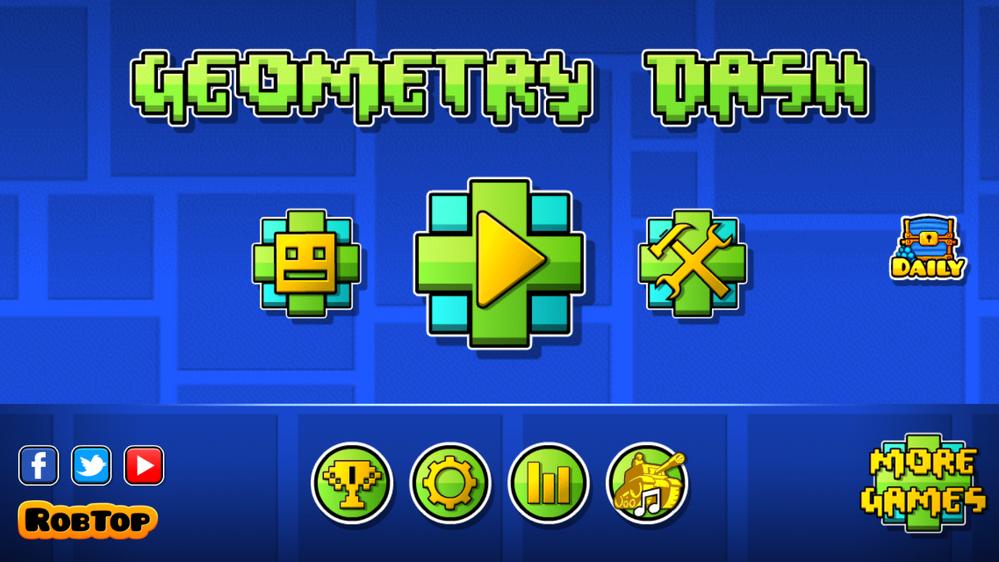 GeometryDashMenu