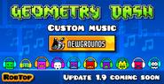 Update 1.9 Newgrounds CM