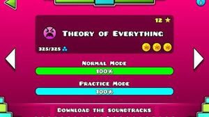 Geometry Dash - Theory of Everything