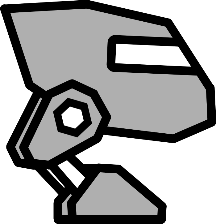 robot02png - Geometry Dash Icon Coloring Pages