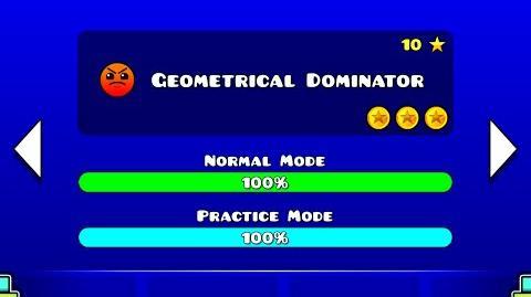 Geometry Dash Walkthrough - Level 19 (Geometrical Dominator) -ALL COINS-