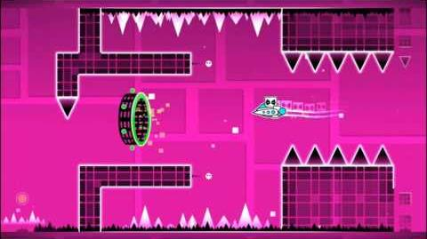 Level 8 - Time Machine By RobTop (Easy Level) (3 Coins)-2