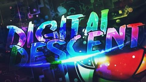 -First on 60hz- Digital Descent 100% (BUFFDATE) by ViPriN - Extreme Demon - Geometry Dash
