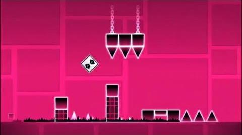 Level 2 - Back on Track By RobTop (Easiest Level) (3 Coins)