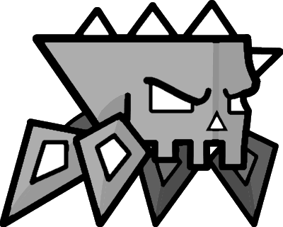 spider10png - Geometry Dash Icon Coloring Pages