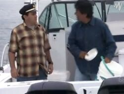 Ep 3x9 - Vic, George, chastises Ernie on boat trip