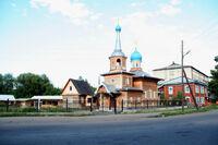 Храм в Горно-Алтайске