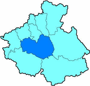 Онгудайский район на карте
