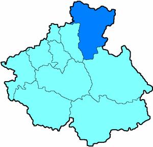 Турочакский район на карте
