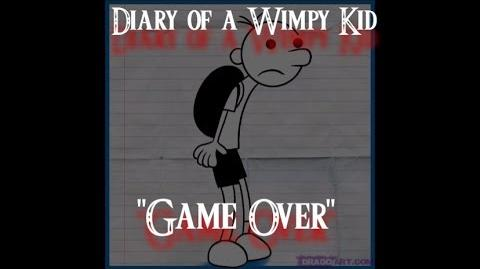 Dairy of a Wimpy Kid Game Over