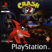 Crash bandicoot 2 pal-front
