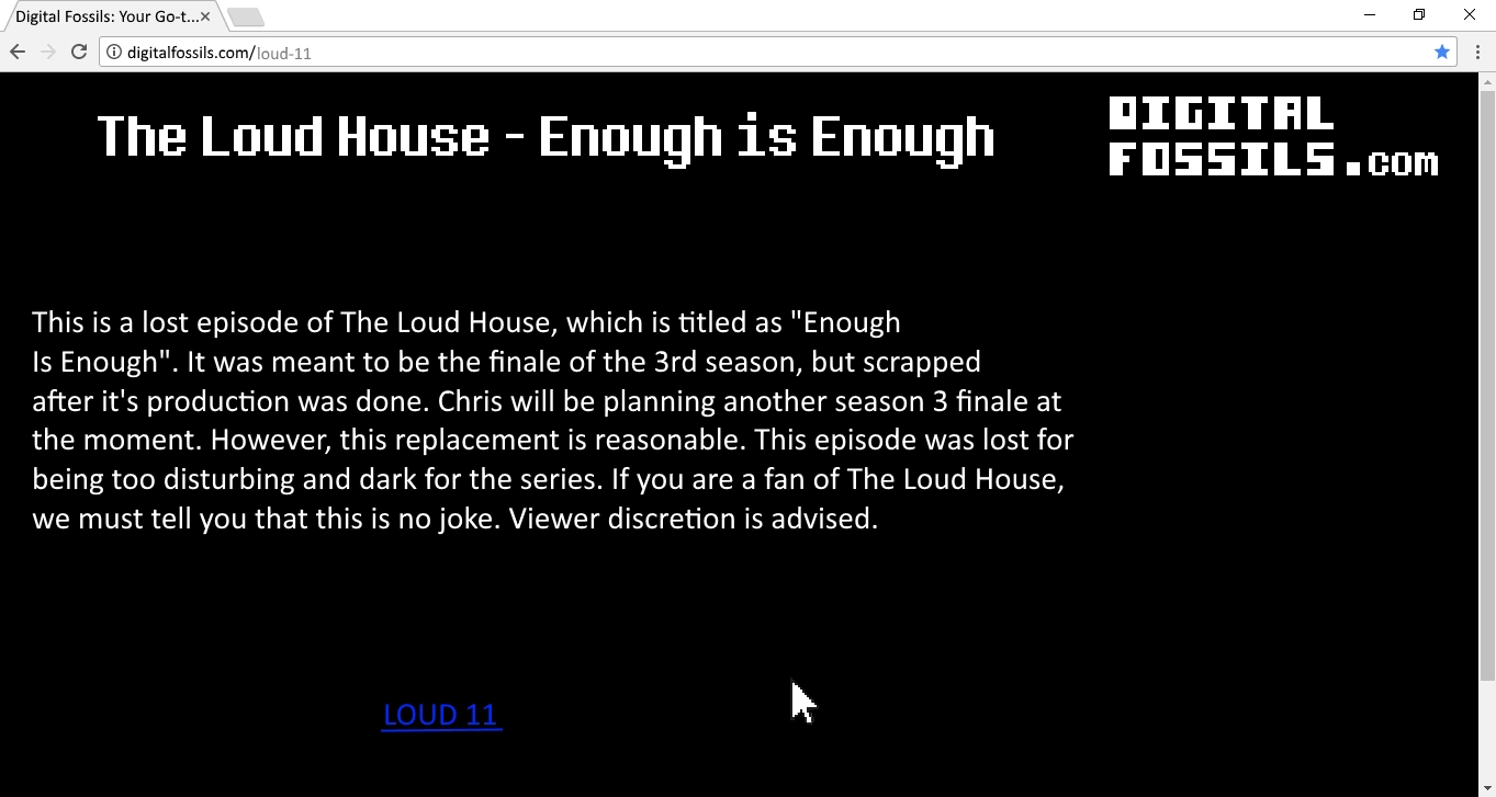 The Loud House: Enough Is Enough | Geoshea's Lost Episodes