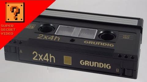 Unmarked Video 2000 Tape - Cleaned Seventy-Seven-Fold