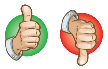 image 12 thumbs up thumbs down pic free cliparts that you can