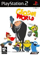 Geoshea World (video game) PS2 cover art (PAL)