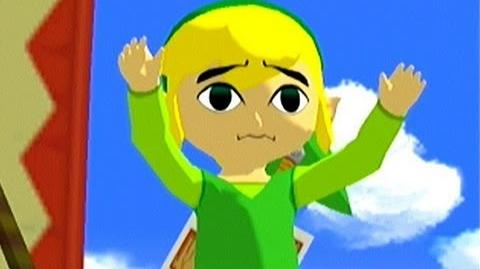 Toon Link cutest moment