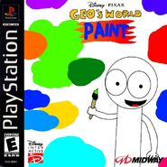 Geo's World Paint PS1 Cover Art