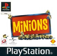 Minions PS1 cover PAL 1