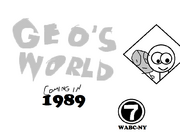 NY Advertisment Geo's World 1988