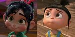 Vanellope and agnes