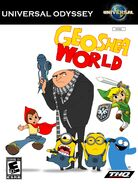 Geoshea World (video game) UO cover art (NTSC)