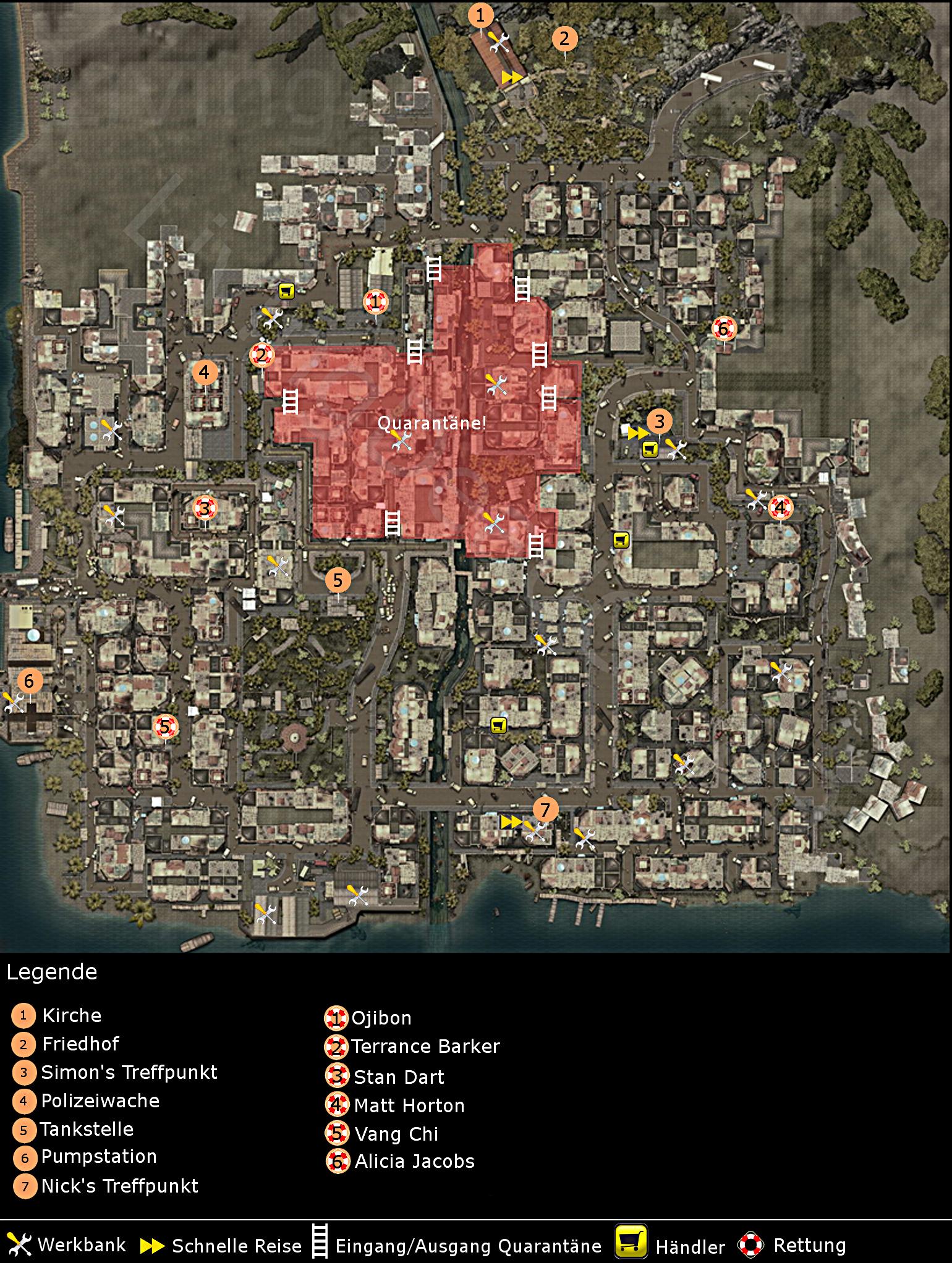 Maps | Dead Island PC Wiki | FANDOM powered by Wikia Dead Island Map on