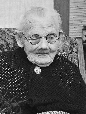 Gerarda Hurenkamp-Bosgoed 1870-1980 aged 110