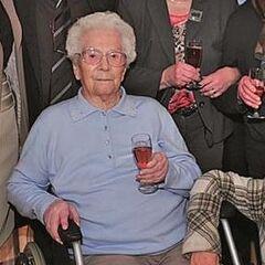 Anna Kupper at 105